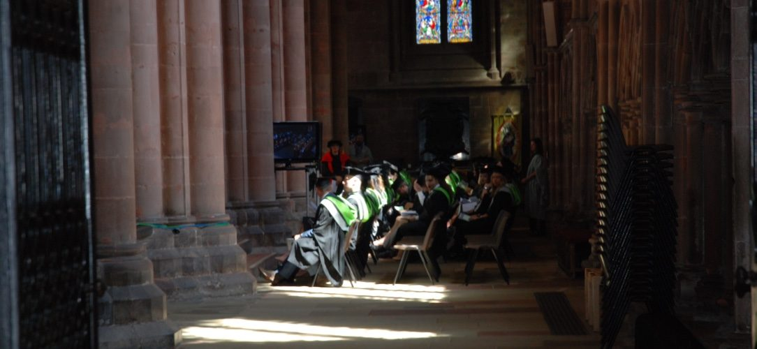 Carlisle cathedral graduation ceremony bachelorplus for Nc betriebswirtschaft