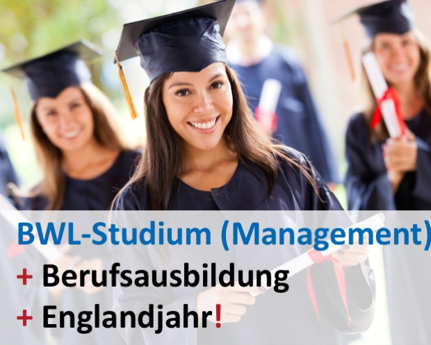 Bachelorplus bwl studium plus auslandsjahr ohne nc for Management studium nc